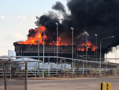 Požiar spôsobil veľké škody