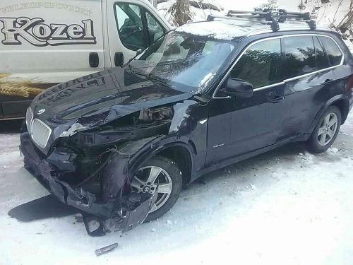Hromadná nehoda si nevyžiadala