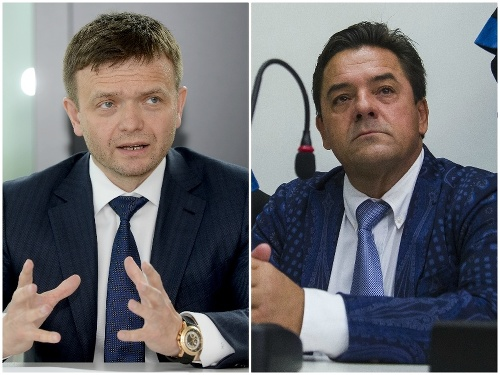 Jaroslav Haščák a Marian