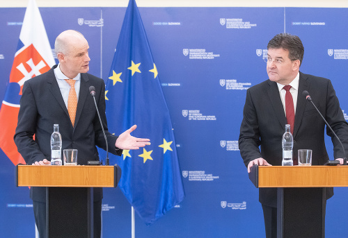 Miroslav Lajčák and Stef