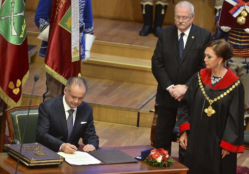 Inaugurácia prezidenta Andreja Kisku