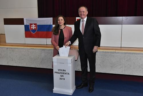 Andrej Kiska počas volieb