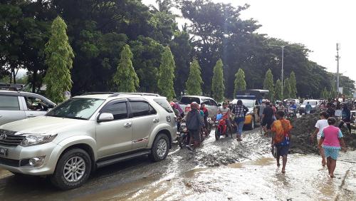 Indonéziu zasiahli povodne a