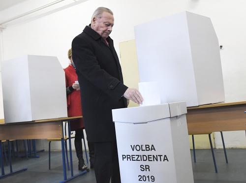 Bývalý prezident Rudolf Schuster