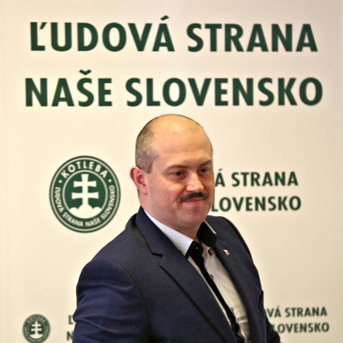 Tlačová konferencia ĽSNS