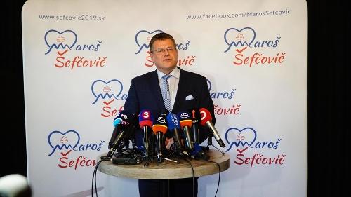 Maroš Šefčovič chce byť