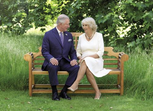 Princ Charles s manželkou
