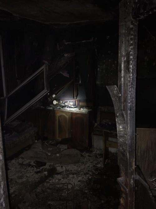 Pri požiari bytu v