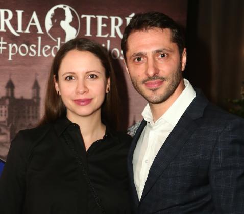 Braňo Deák s manželkou