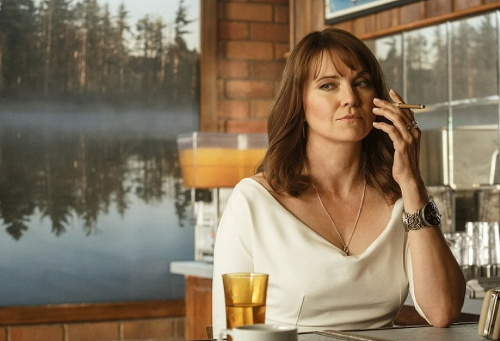 Lucy Lawless pred kamerami