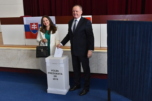 Andrej Kiska a manželka