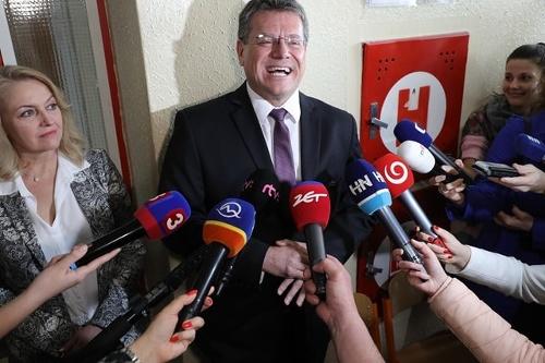 Kandidát na prezidenta Maroš