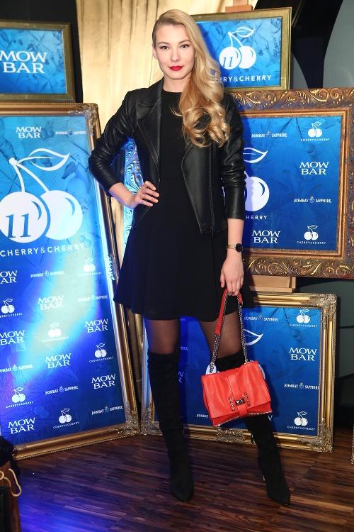 Modelka Erika Bugárová
