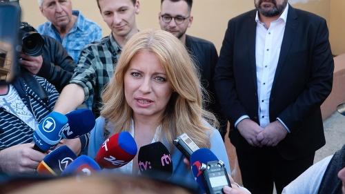 Vyhlásenie Zuzany Čaputovej po