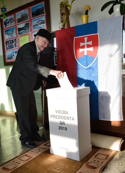 Vo volebnej miestnosti v