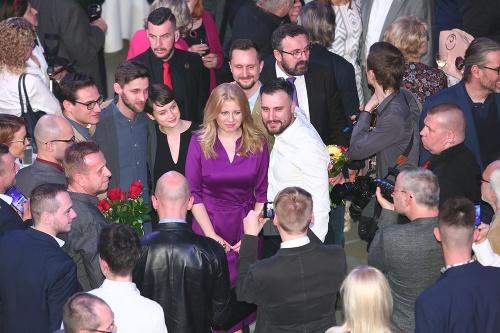 Zuzana Čaputová už dostáva