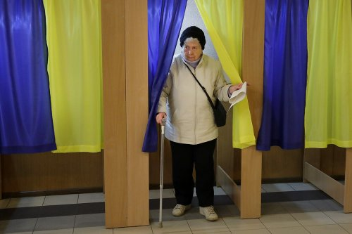 Prezidentské voľby na Ukrajine