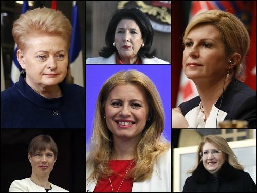 Ženy prezidentky vo svete