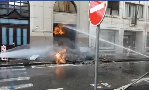 Výbuch plynu na Gorkého