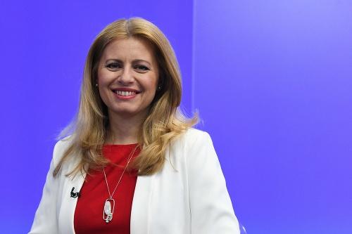 Nová prezidentka Zuzana Čaputová