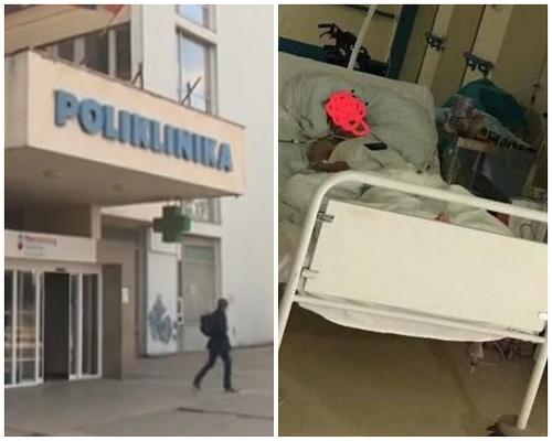 Vlna kritiky na adresu nemocnice v Leviciach: Evu nechali po operácii ležať na nemocničnom lôžku na chodbe.