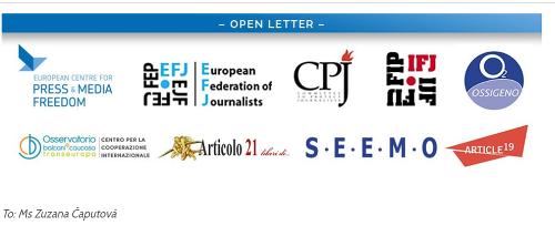 Otvorený list novinárov Čaputovej:
