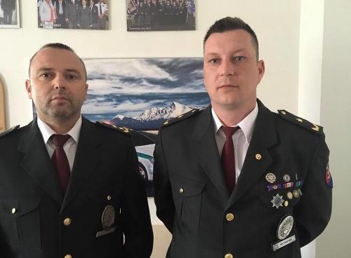 Policajti Tomáš a Miroslav