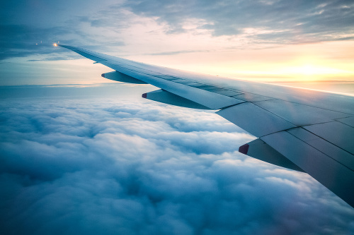 Muž letel 1600 kilometrov