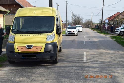 Dopravná nehoda v Kuraľanoch.