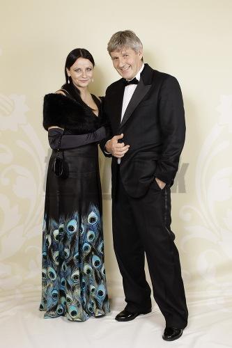 Ján Kroner s manželkou