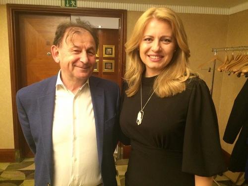 S Michaelom Žantovským.