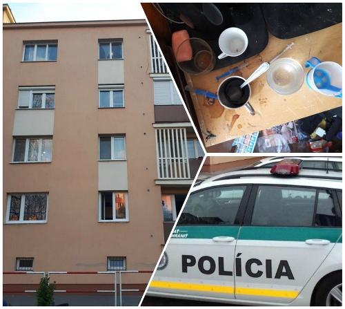 Policajti zachránili dieťa.
