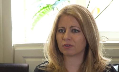 Zuzana Čaputová v rozhovore