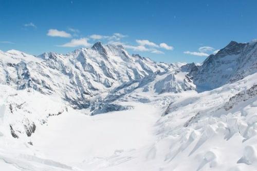 Švajčiarske ľadovce sa za