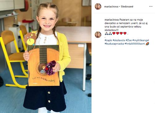 Mária Čírová ukázala dcéru: