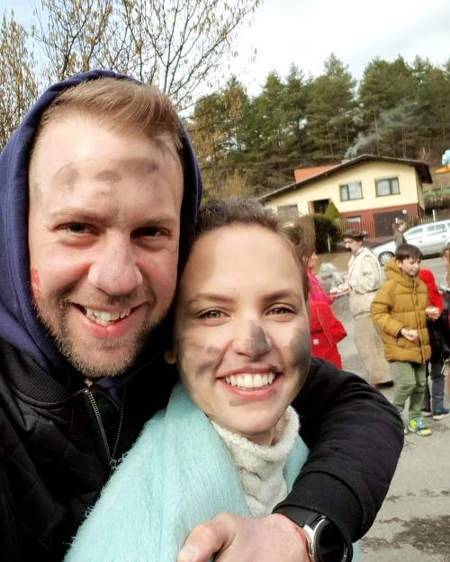 S manželkou Ninou sú