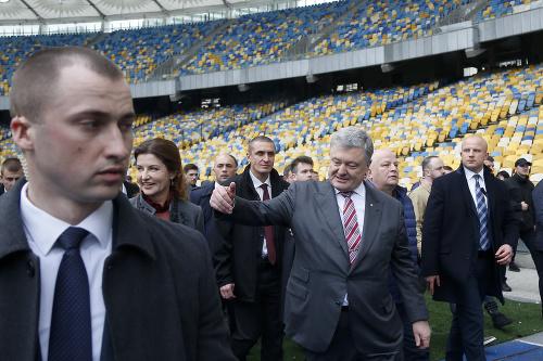 Petro Porošenko sa kandidáta