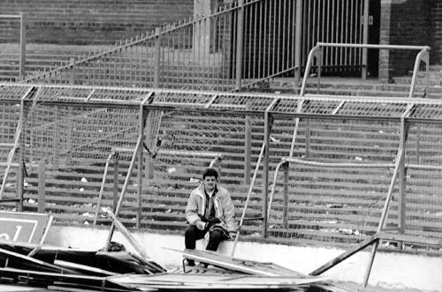 Fanúšik na štadióne Hillsborough