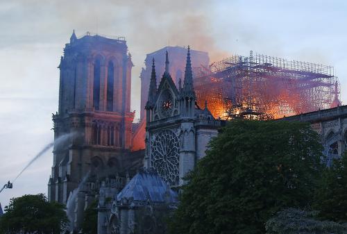 Na snímke Katedrála Notre-Dame