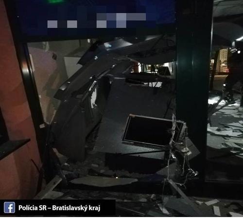 Polícia vyšetruje prípad poškodenia