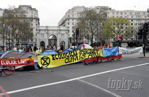 Organizátori klimatických protestov v