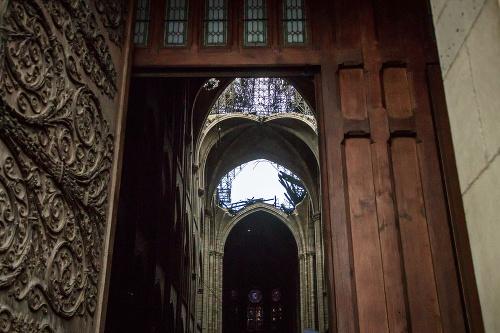 Zničujúci požiar Notre-Dame: FOTO