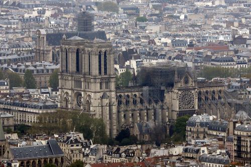 Nebezpečenstvo v okolí katedrály