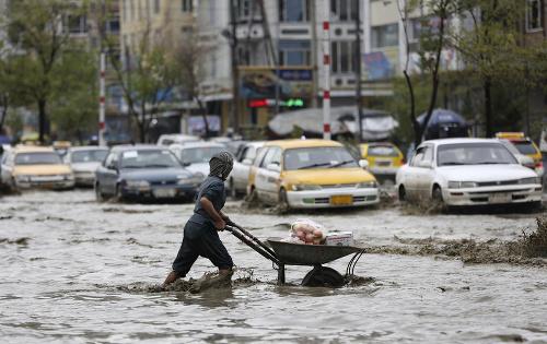 FOTO Záplavy v Afganistane,