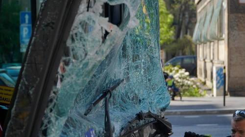 Vážna dopravná nehoda autobusu