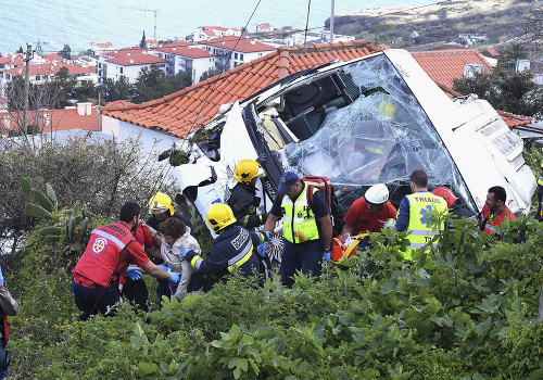 Tragická nehoda na ostrove