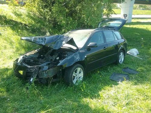 Dopravná nehoda na zjazde