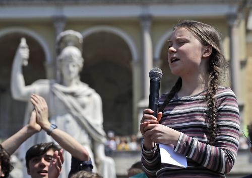 Na klimatický protest, ktorý