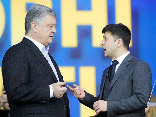Petro Porošensko vs. Volodymyr