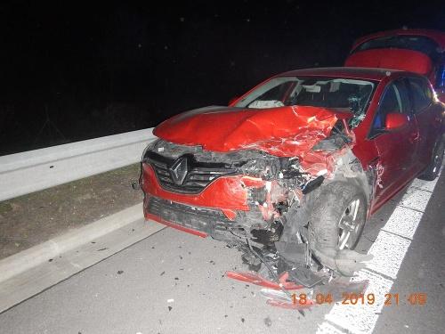 Hromadná nehoda v Banskobystrickom